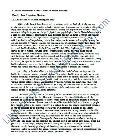 literature review on thesis 4 this is the thesis statement of the literature review it identifies a general finding from the various articles that were looked at and goes from broad.