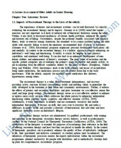 Literature review research paper sample